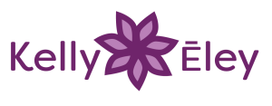 Kelly Eley Reiki Logo with Flower