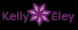 Kelly Eley Reiki Logo with Flower