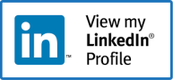 LinkedIn profile button for Kelly Eley Cybersecurity Freelance Researcher Writer